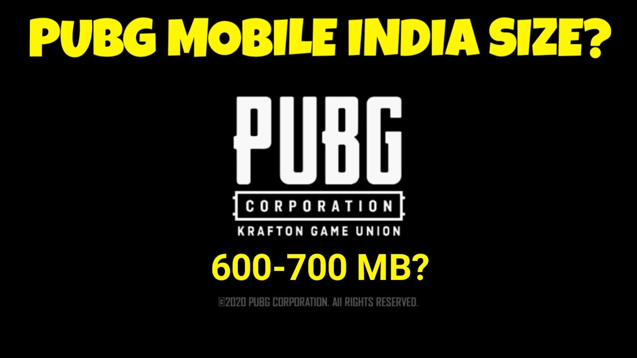 Pubg Mobile India Kitne MB Ka Hoga