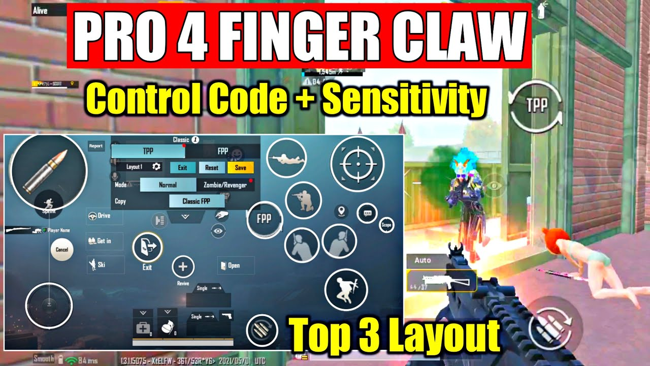 Best 4 Finger Claw Pubg Mobile